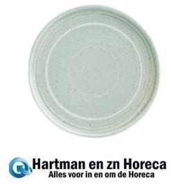 FB562 -Olympia Cavolo plat rond bord zacht groen 18cm