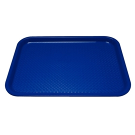 P512 - Dienblad polyprop35x45cm blauw