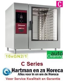 SDE/XC-12 - Electrische oven directe stoom en convectie, 10xGN2/1+Cleaning DIAMOND
