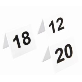 L982 - Olympia plastic tafelnummers 11-20