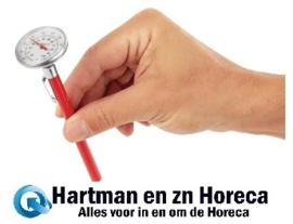 F346 - Hygiplas zakthermometer met wijzerplaat Bereik: -10°C tot +110°C