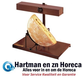202075 - Traditionele raclette voor 1/2 ronde kaas