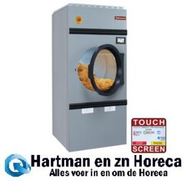 DSE-23/TS - Roterende elektrische wasdroogmachine, capaciteit 23 kg, met afwisselende rotatie TOUCH SCREEN DIAMOND