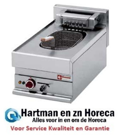 E65/F10-4T(9KW) -  Elektrische friteuse, S-Powerful, 1x10 liter -Top- DIAMOND Alpha 650
