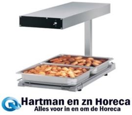 DRF-FL - Voedselverwarmer tafelmodel, infrarood, kuip GN 1/1 DIAMOND