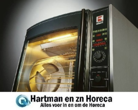 RT 508 CC - Rotisserie Roterende kippengrill Dubbele spies: 8