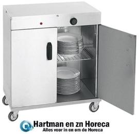 710060 - Bordenwarmer voor 80 Borden - 1000W - 72x44x(h)80cm