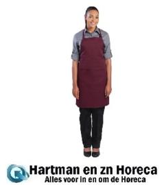 B194 - Colour by Chef Works halterschort bordeaux