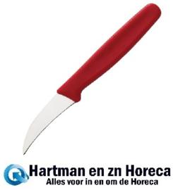 C665 - Victorinox gebogen schilmesje rood 6,5cm
