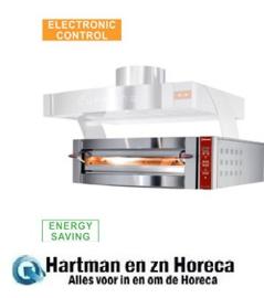 GDX9/35-DP - Elektrische oven, 9 pizza's Ø 350 mm DIAMOND