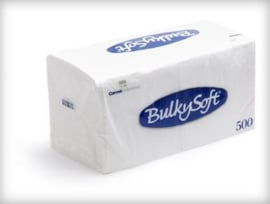 BULKYSOFT 1 LAAGS SERVETTEN 1/4