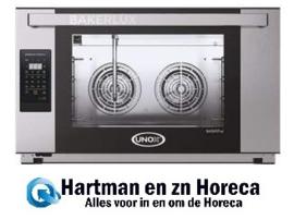 596194 - Unox BakerLux oven - XEFT-04EU-LED - Rossella Touch - 4 x 60x40