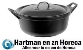 620036 - Braadpan - Gietijzer - Ø36 cm zwart