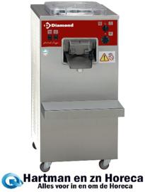 TGV/20DA - Vertikale automatische ijsturbine, 20 liter/u, luchtcondensator DIAMOND