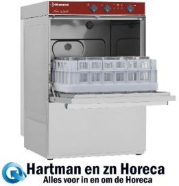 DC402/6 - Glazenwasser mand 400 x 400 mm DIAMOND
