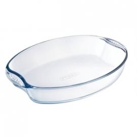 GD032 - Glazen ovenschaal Pyrex ovale schaal 300x210mm