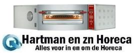 CGD/1-DG-(230/3) - Elektrische oven hoekmodel, 1 kamer 8 pizza's Ø 350 mm DIAMOND