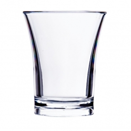 CB871 - Polystyreen shotglas 5cl - per 100 stuks