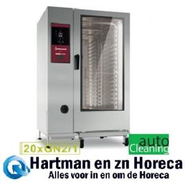 SBES/XC-22 - Combisteamer electrische oven met boiler 20x GN2/1 + Cleaning DIAMOND