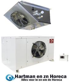 HN170-NP - Vriescelmotor buiten opstelling Temperatuur : -18° -22° DIAMOND
