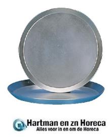 CB146 - Plaatstalen pizzapan 35,5 cm