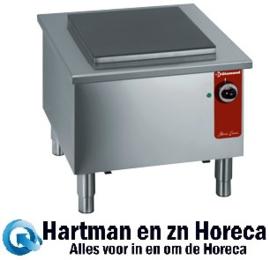 EERV - Hokker  Lage elektrische brander mm (BxDxH) : 580x580xh520 DIAMOND