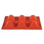N943 - Pavoni Formaflex siliconen bakvorm 6 piramides