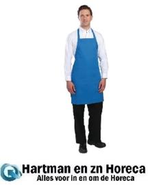 B193 - Colour by Chef Works halterschort blauw
