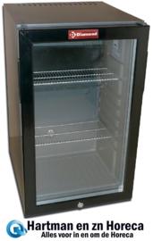 C520S/VT - Mini-bar glazen deur, 52 liter DIAMOND