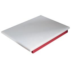 PDP/RE-D - Snijplank in polyethyleen voor vlees (rood)