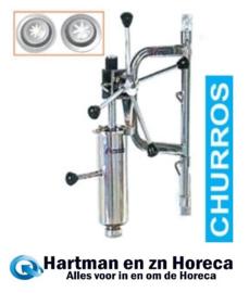FCT/DA2 - Manuele doseerder voor churros (4.5Kg) + wandbevestiging DIAMOND