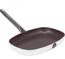 720175 - Koekepan rechthoek aluminium/teflon 380x260 mm