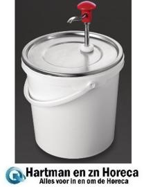 DA363 -Schneider 10 liter sausdispenser met pomp
