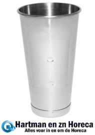 AD213 - Buffalo beker voor enkele milkshake mixer