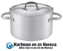 720623 - Kookpan aluminium middel hoog Ø600 mm PUJADAS