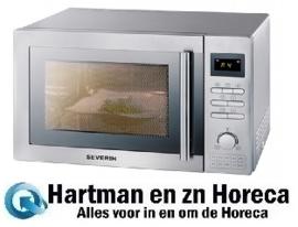 910065 - Magnetron - Met Grill En Heteluchtoven - 25 Liter - 2400 Watt Severin