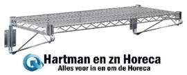 U202 - Vogue draad wandplank 122 x 36 cm