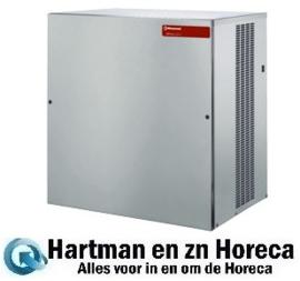 ICEV900W - Machine voor vlakke ijsblokjes 400 kg (zonder reserve) - Water gekoeld DIAMOND