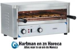 CTQGM - Quartz Salamander Toaster verstelbaar op 3 Niveaus 2200 Watt CASSELIN