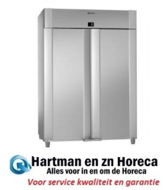 961400111 - ECO PLUS M 140 CC - 2-deurs koelkast met dieptekoeling - Volledig RVS - 2/1 GN GRAM