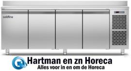 MASTER 4P/BT - Vrieswerkbank RVS geventileerd met 4 deuren Gastro 1/1 TOPCOLD