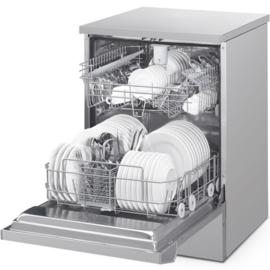 057SWT260 - Vaatwasser Smeg v.v. 2 korven met automatische vervanging van het water na iedere wascyclus, peristaltische pomp t.b.v. zeep en glasnspoelmiddel