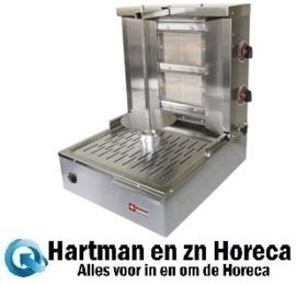 KEB-G41 - Gas gyros - shoarma - doner grill 20 kg DIAMOND