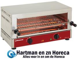 """MS12/R-N- Elektrische toaster-salamander GN 1/1, 1 verdieping (520x3MS12/R-N 20), met """"Quartz"""" DIAMOND"""