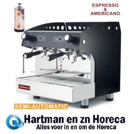 COMPACT/2PB+DVA8 - Geheel espresso koffiemachine met waterontharder DIAMOND