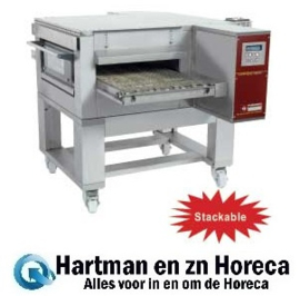 FTGV 50/85-N - Gas pizza band tunnel-oven geventileerd, breedte 500 mm DIAMOND