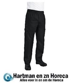 B222 - Chef Works Unisex slim fit cargo broek zwart