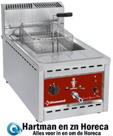 FSM-12GT/N -  Gas friteuse 12 Liter - TOP- DIAMOND