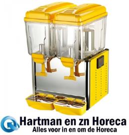 688152 - CaterCool koude drankendispenser 2 x 12 liter