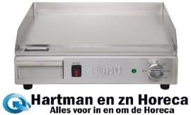 DB193 - Buffalo heavy-duty elektrische bakplaat 2200 Watt